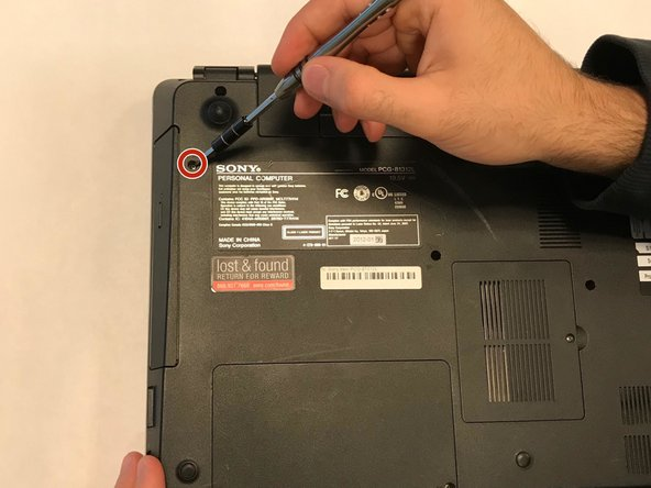 Sony Vaio PCG-81312L Optical Drive Replacement