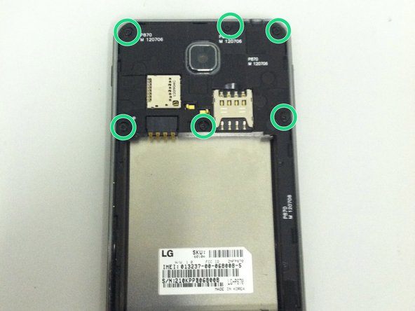 LG Escape (p870) Rear Camera Replacement