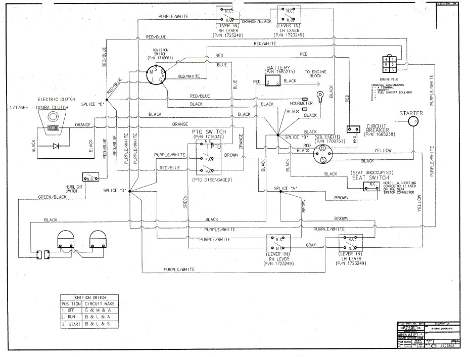 SOLVED mower deck will not engage when the PTO switch is turned – John Deere 1435 Wiring Diagram
