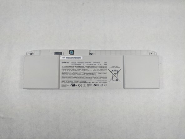 Sony Vaio SVT131A11L  Battery Replacement