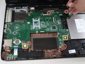 Dell Inspiron 17R-N7110 Motherboard Replacement