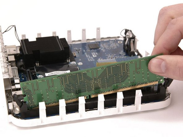 Some devices, such as phones and ultra-thin laptops have non-removable RAM. Don't try to remove this RAM from the device, as it is soldered into the motherboard.