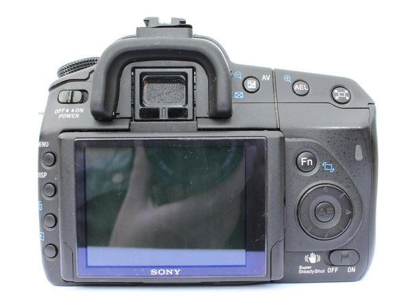 Sony Alpha A350 : LCD Replacement