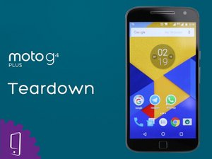 Motorola Moto G4 Plus Disassembly (Video)