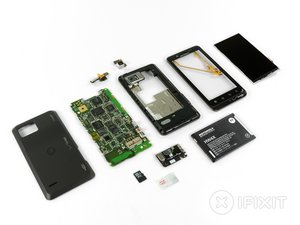 Motorola Droid Bionic Teardown