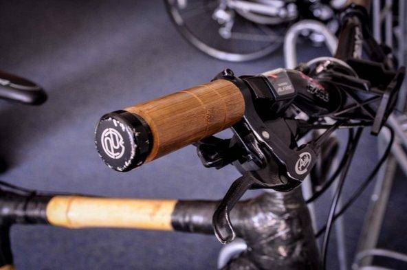 Bamboo bike handlebar