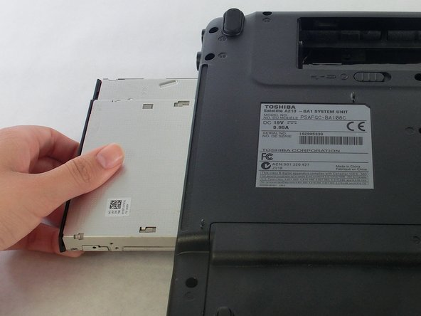 Toshiba Satellite A210 Optical Disc Drive Replacement