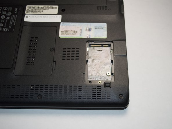Slide the 3G card forward until it is not connected.