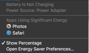 SOLVED: Battery not charging while laptop is powered on - MacBook