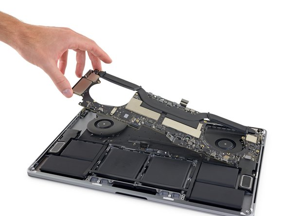 "MacBook Pro 15"" Touch Bar Late 2016 Logic Board Assembly Replacement"