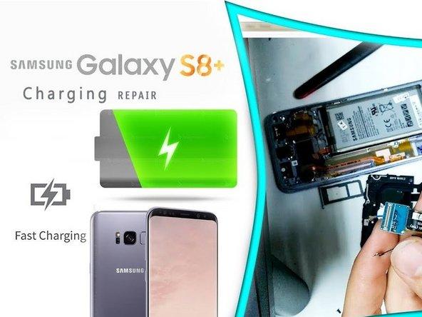 Samsung Galaxy S8 Plus Ladebuchse ersetzen