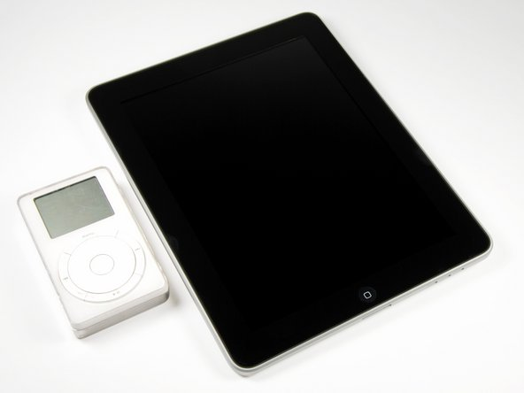Image 1/3: iPad, meet iPod original.