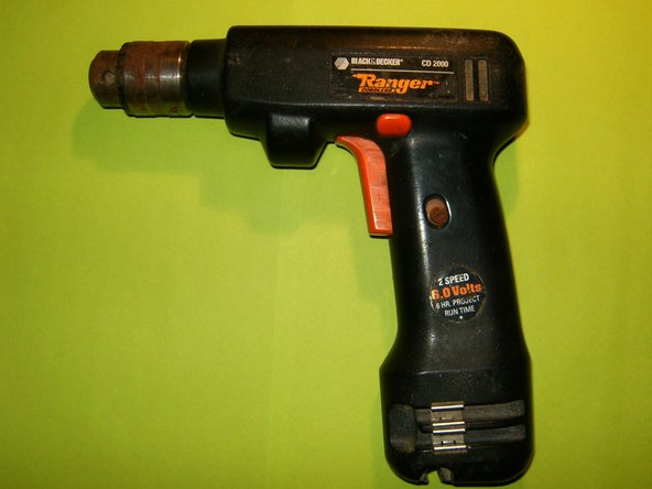 Repairing Black and Decker - TS221 Ranger CD2000 Battery