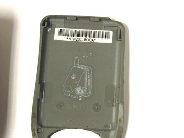 Localiser le numéro de série du Motorola i450
