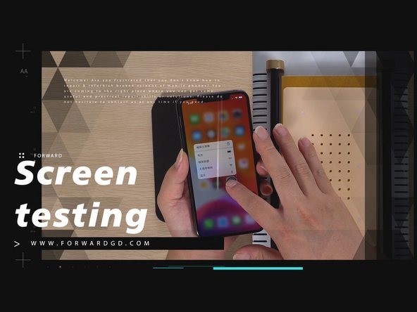How To Replace  iPhone 11 Pro Max Broken Screen Successfully-OCA Lamination Machine