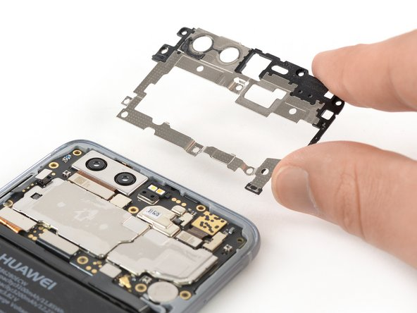 Sostituzione schermatura scheda madre Huawei Honor 9