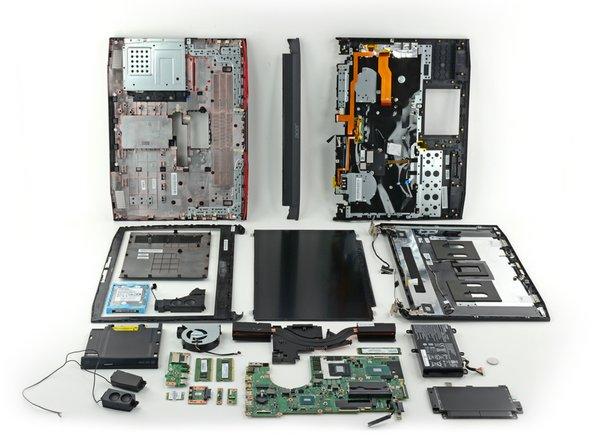 "Acer Predator 17.3"" Repairability Assessment"