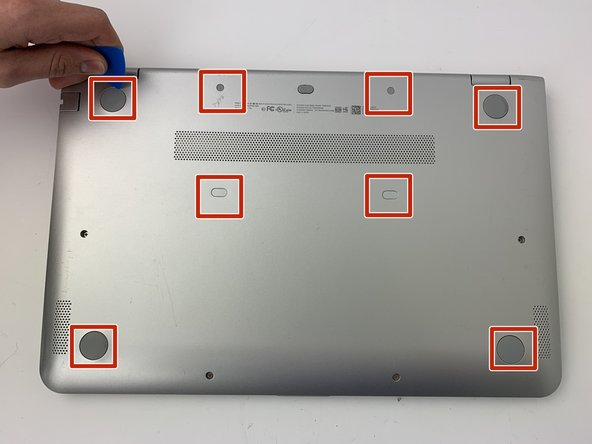 Make sure the laptop is powered off and disconnected from any outlets.