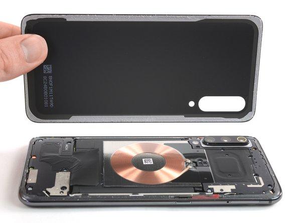 Reemplazo del cristal trasero del Xiaomi Mi 9