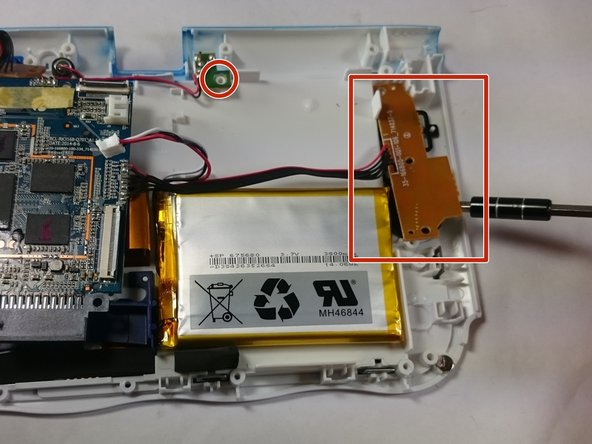 All of these components can be located by following wires leaving the motherboard.