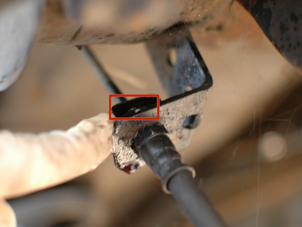 In an effort to ease the removal of these hoses each of the connection points should be sprayed thoroughly with a penetrating lubricant.