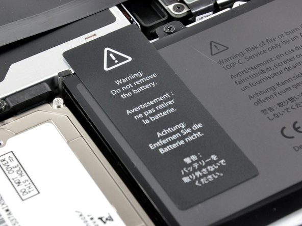 "The battery compartment is identical to the one we uncovered in the MacBook Pro 17"" Teardown. We'll venture a guess that it looks the same in the updated 15"" Pro as well."