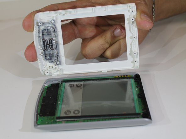 Carefully lift the screen from the device, and replace it with a new one.