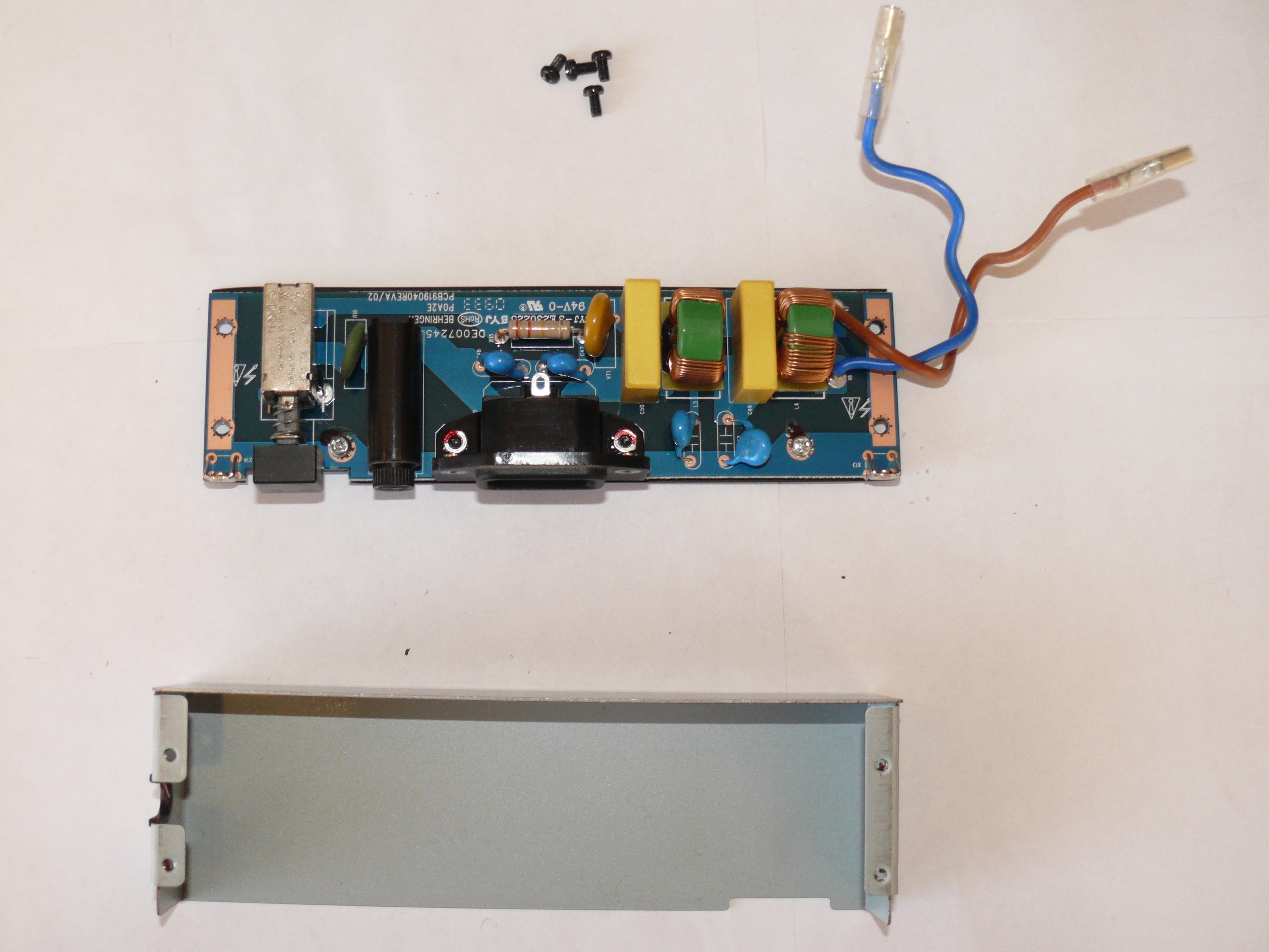 Behringer Eurolive B212d Power Pcb Replacement Ifixit