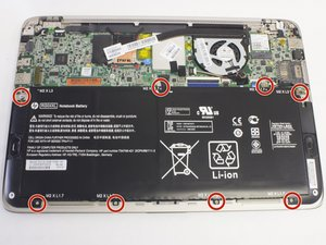 HP Spectre 13-3010dx Battery Replacement
