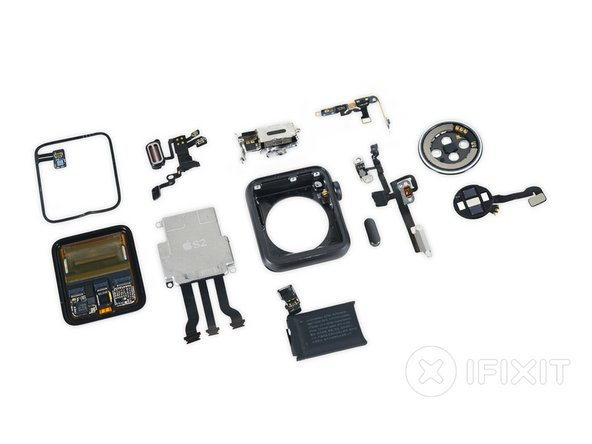 And that's a wrap! With our Apple Watch  torn asunder on the teardown table we step back to pick up the pieces—and hope it's still waterproof when we put it all back together.