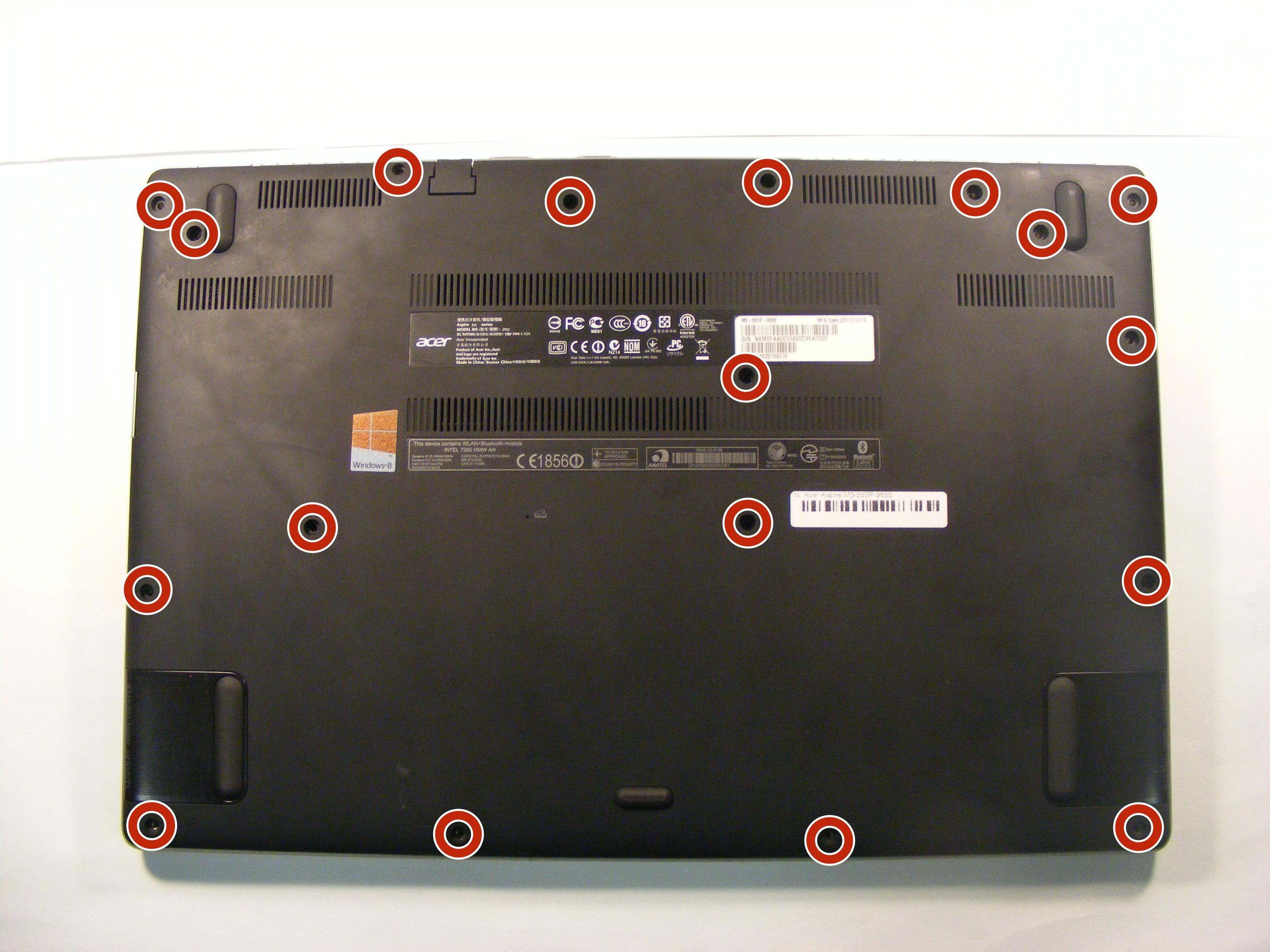 Acer Aspire M5-582PT Intel ME XP