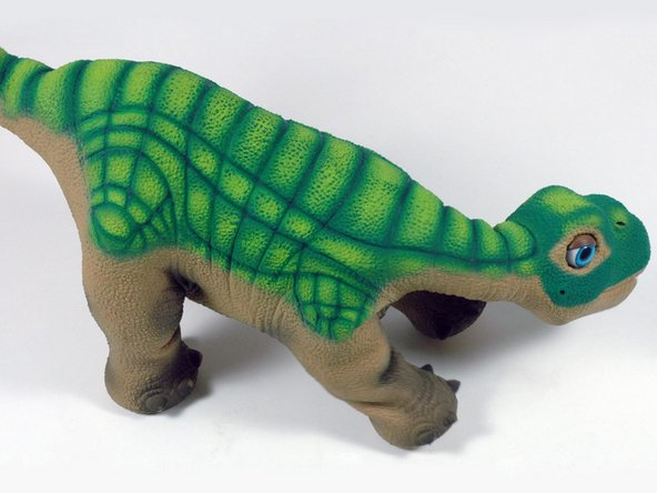 Image 1/1: We immediately bonded to the little dinosaur. This was the most difficult take apart we've ever done. Disassembling inanimate iPods is one thing, but Pleo was ''more''. Ah, Pleo-- we hardly knew you.