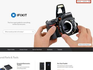 Getting started with ifixit