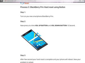 hard reset? recovery mode? - blackberry priv - iFixit