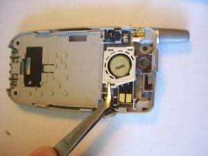 Démontage du haut-parleur arrière du Panasonic GU87