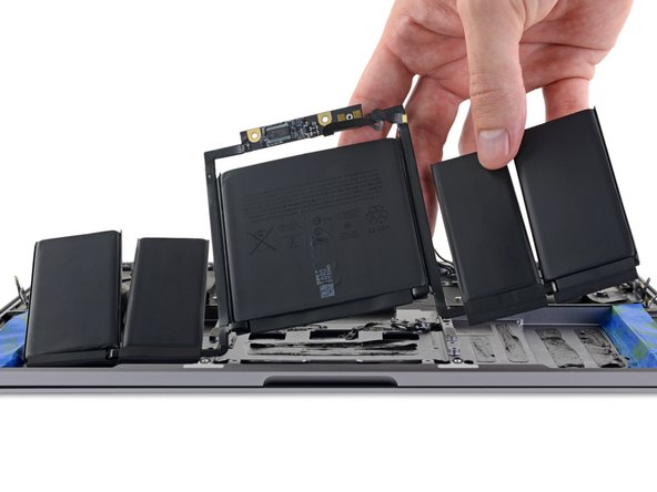 "MacBook Pro 13"" Touch Bar Late 2016 Battery Replacement"