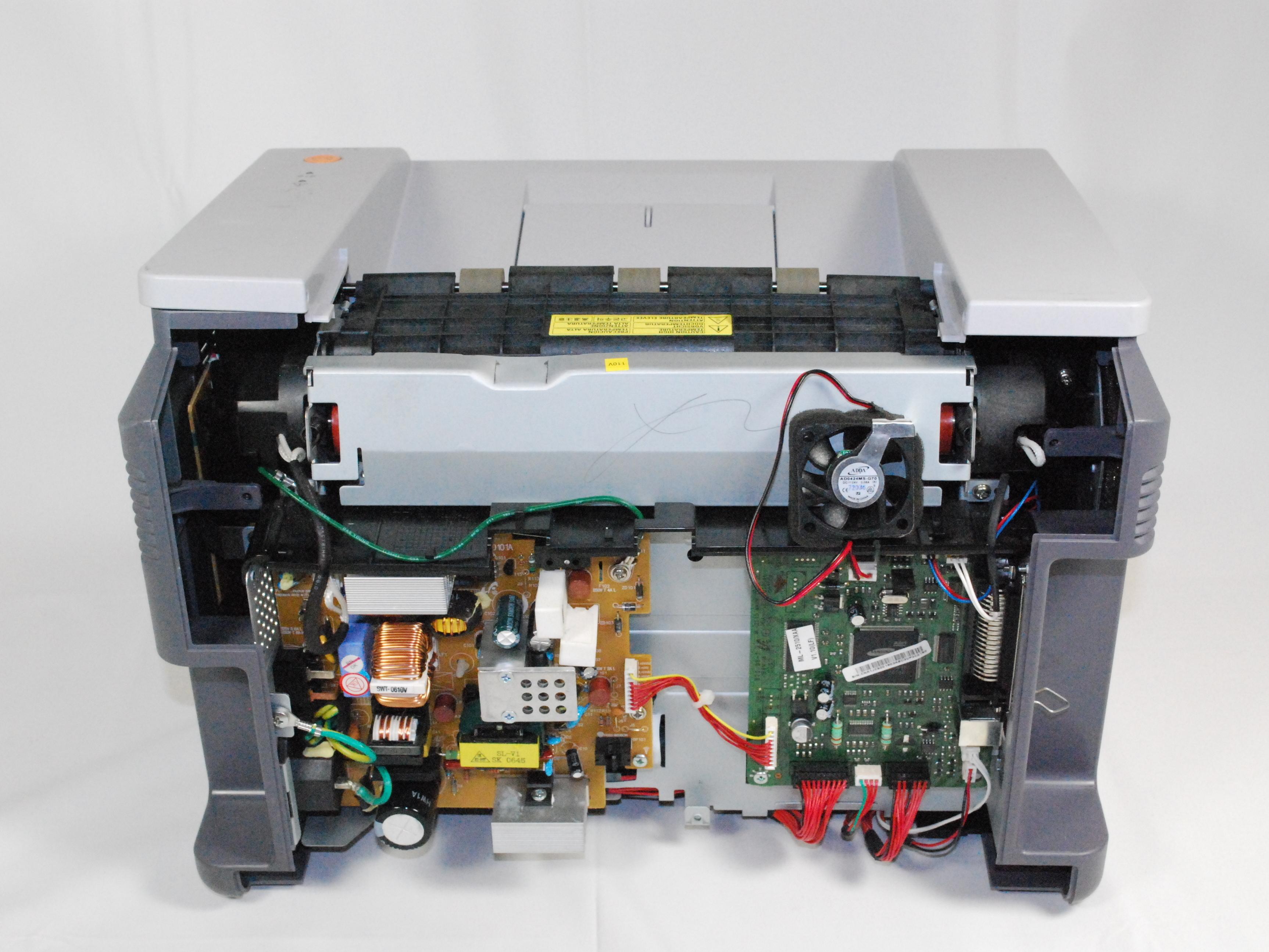 Download free pdf for samsung ml-2510 printer manual.