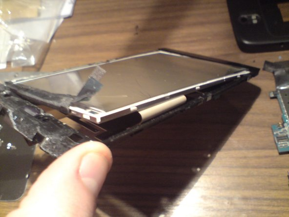 In some instances the gorilla glass may seperate from the LCD fairly easily, or it maybe hard to release.