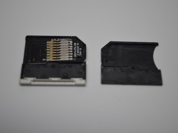 End-cap pops out of mold same as Nifty. Adapter Chip should lift easily out of its mold with little resistance.