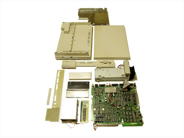 There you have it, an old skool Amiga teardown.