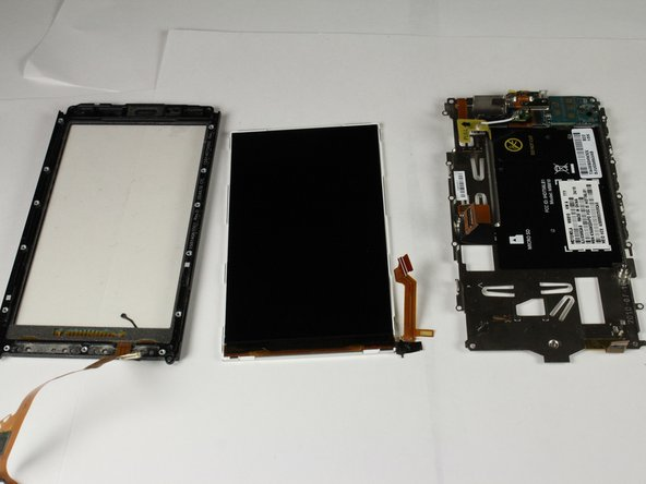 Lift the LCD out of the front housing.
