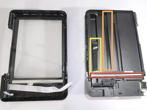 How to realign HP Photosmart D110a scanner