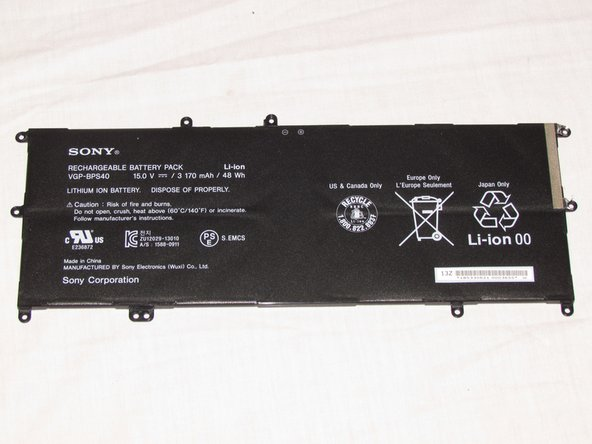 Sony Vaio Fit SVF15N26CXB Battery Replacement
