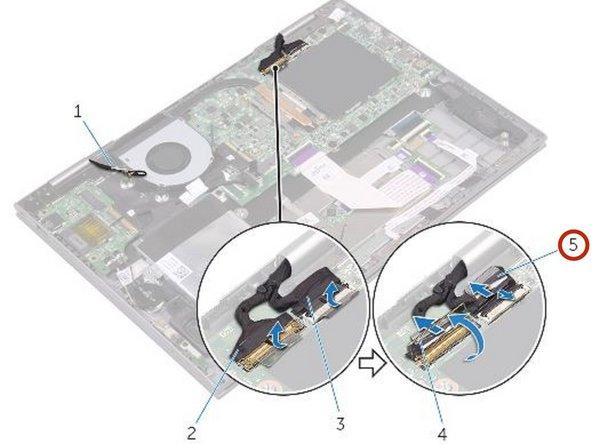 Reemplazo de ensamblaje de pantalla Dell Inspiron 5379
