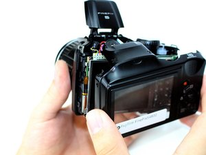 Fujifilm FinePix S4800 Rear Case Replacement