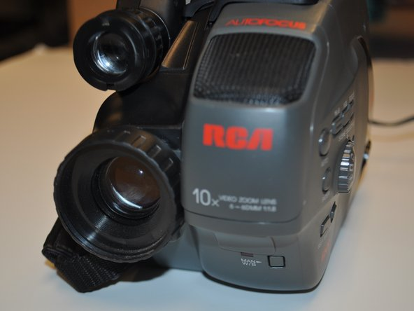 RCA Small Wonders Camcorder CC176 Speaker Replacement