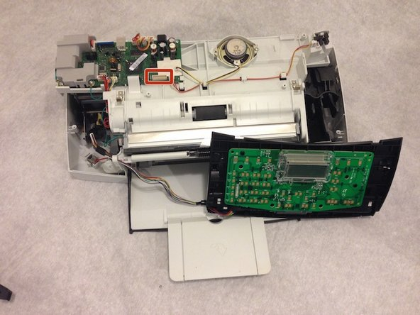 HP Officejet J3680 Keypad Motherboard Replacement
