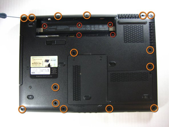 Remove the battery to prevent any electrical damage to any of the components.