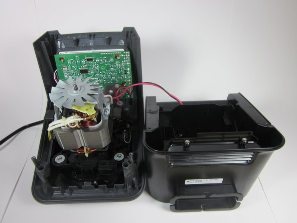 This completes the disassembly of the main body of the blender so you can continue to perform replacements on the internal parts.