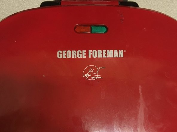 George Foreman Wire Repair